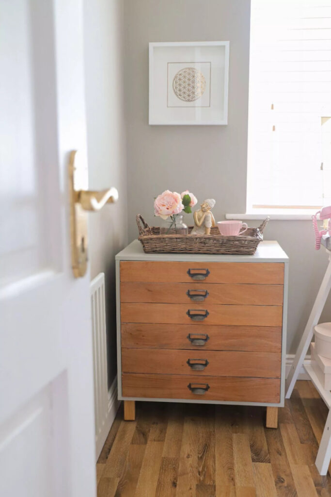 Hack an Ikea Alex Into An Apothecary Cabinet