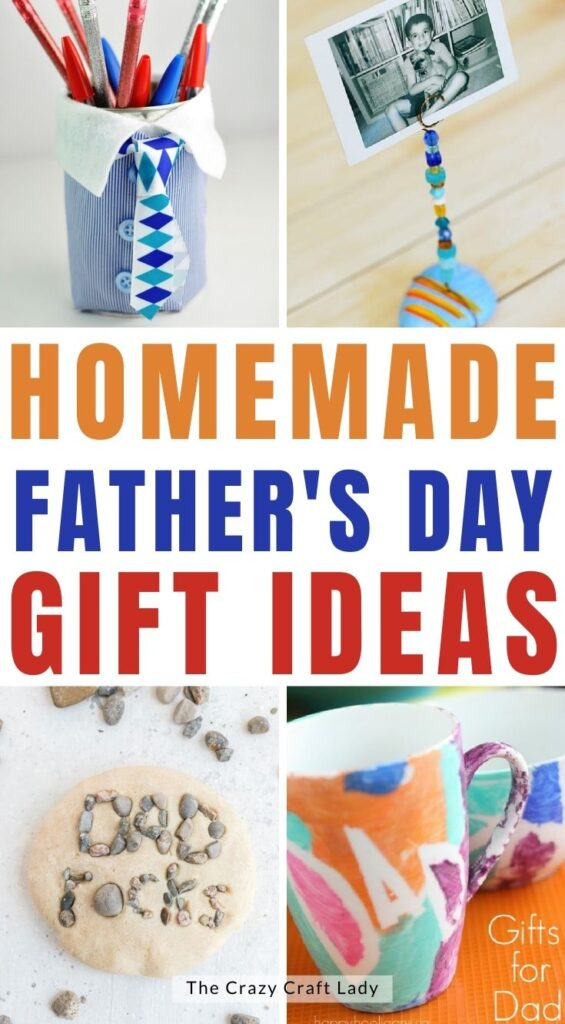Homemade Fathers Day Gifts for Kids to Make