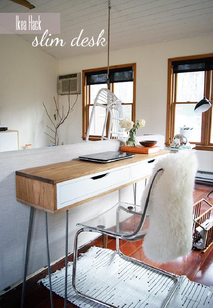 Ikea Hack : Slim Desk