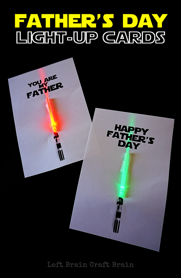 Light-up Father's Day Cards