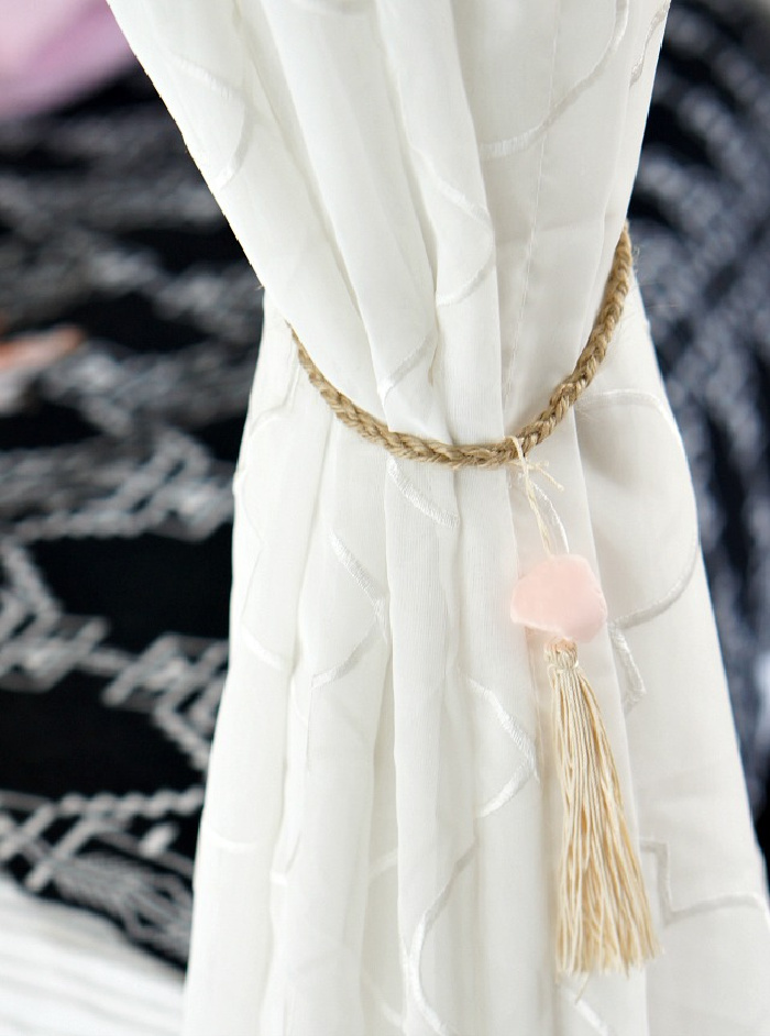 Anthro Inspired Curtain Tie Back