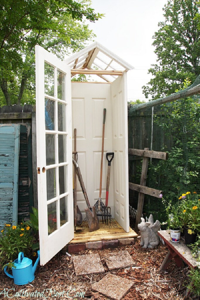 Repurposed Garden Projects - DIY Garden Shed