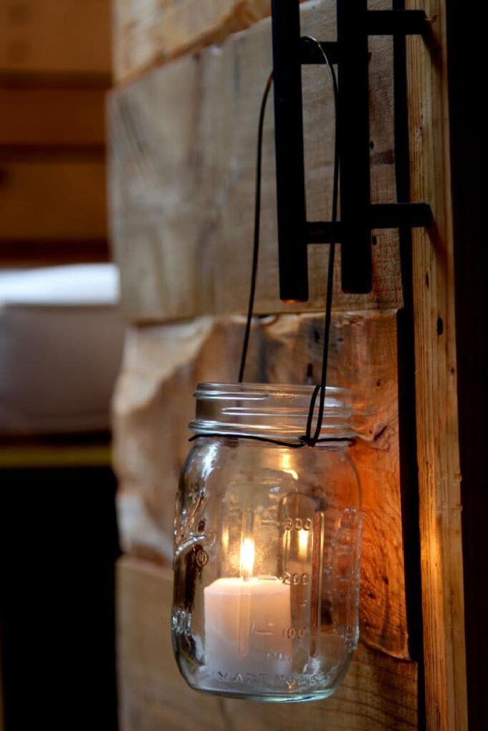 Magical DIY Hanging Mason Jar Lights