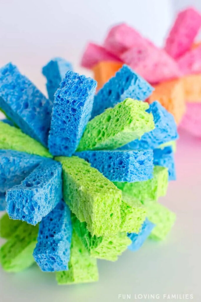 Make A Sponge Ball For Awesome Summer Water Games