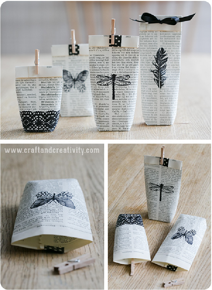 Upcycled Decorative Paper Bags