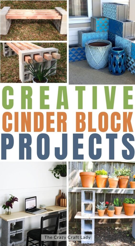 creative things to do with cinder blocks