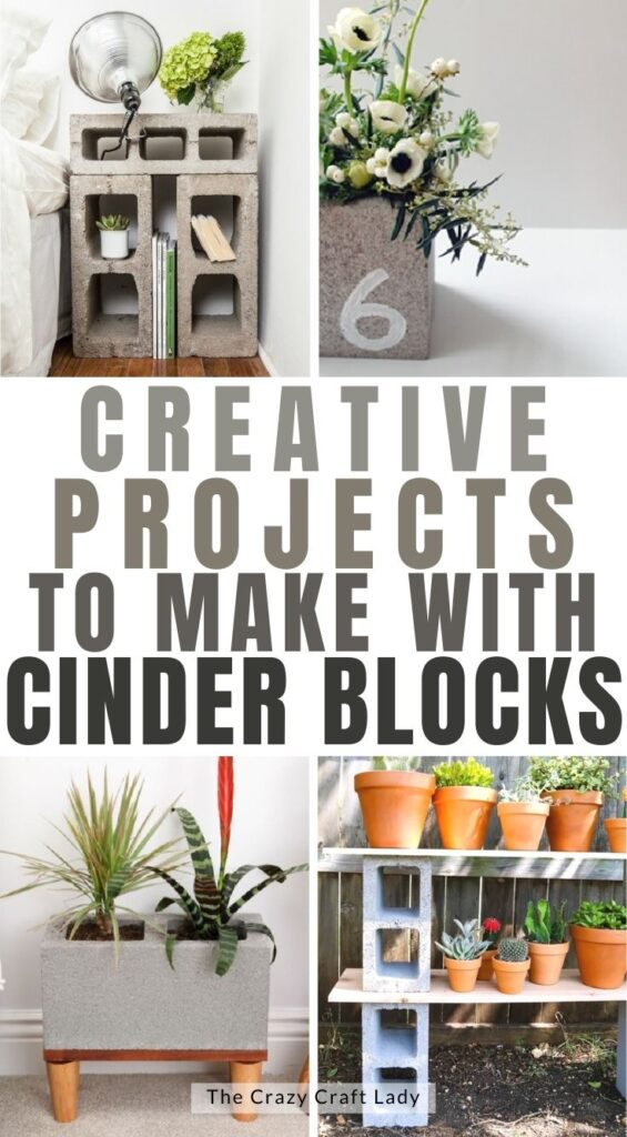 projects to make with cinder blocks