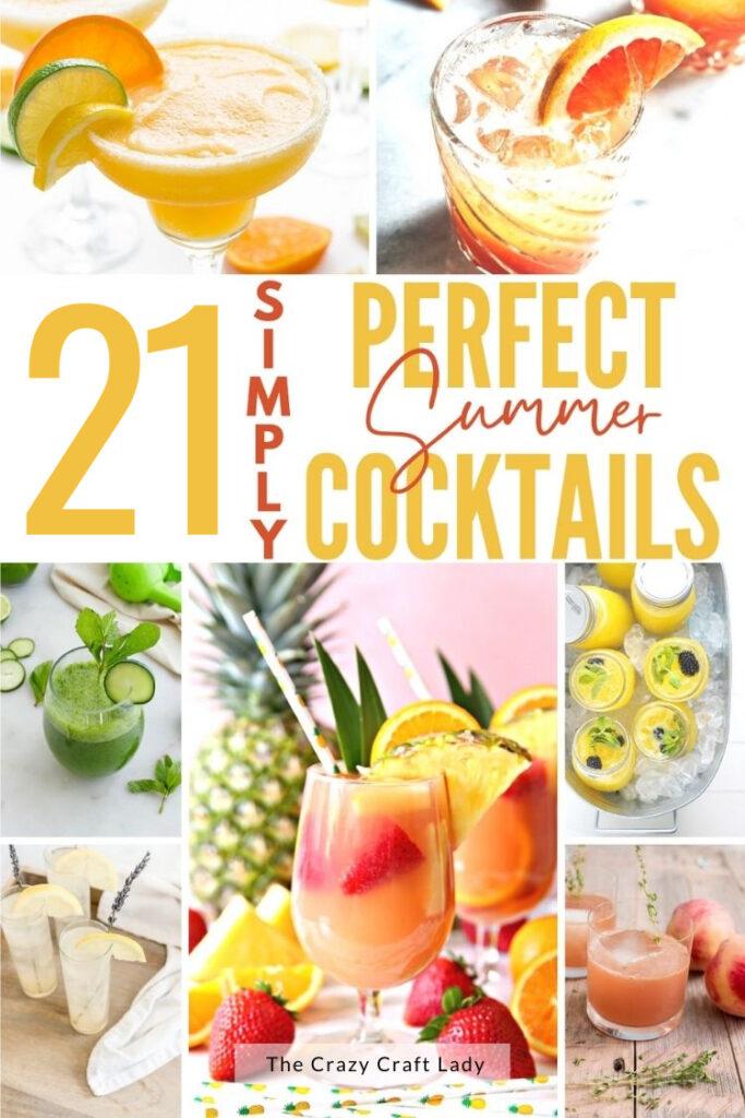 21 perfekte Sommercocktails