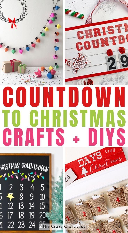 Countdown to Christmas Crafts and DIYs