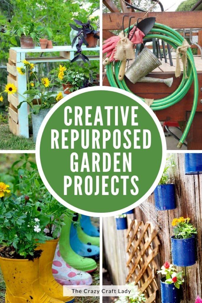 Creative Repurposed Garden Projects