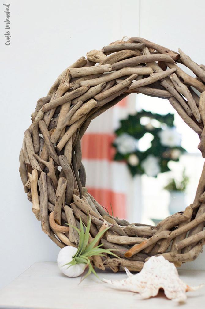 Driftwood DIY Mirror