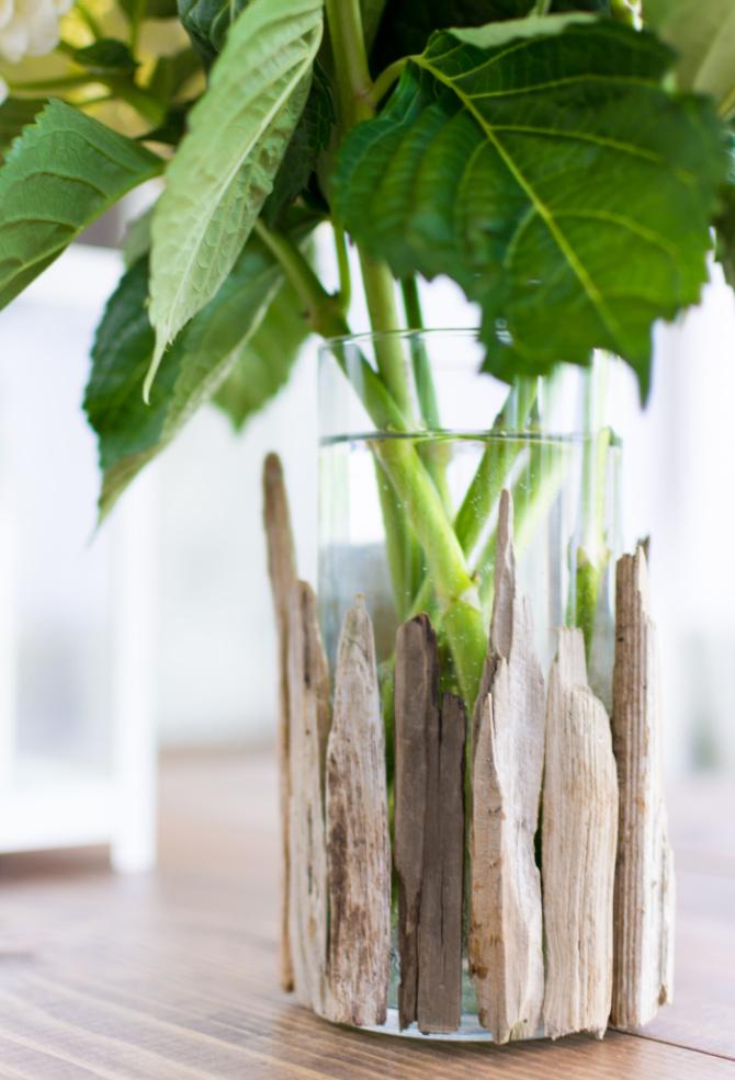 Driftwood Vase DIY