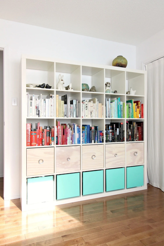 Ikea Hack For Expedit Bookcases