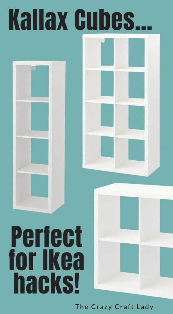 Kallax Cubes - Perfect for Ikea Hacks