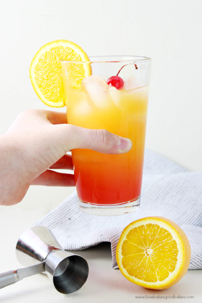Limoncello Sunrise from A Night Owl Blog