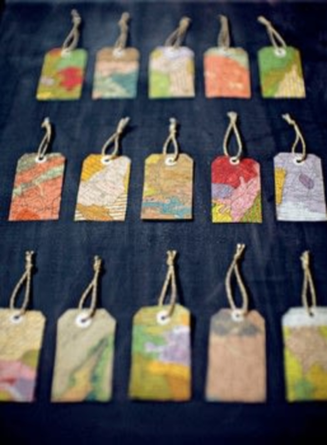 Upcycled Gift Tags