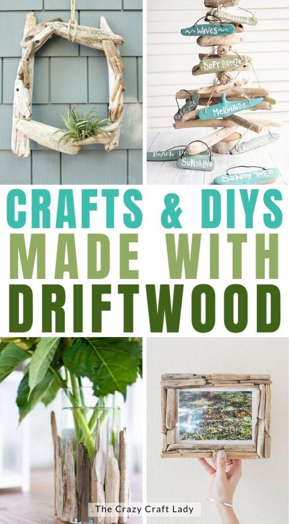 driftwood crafts and diy decor ideas