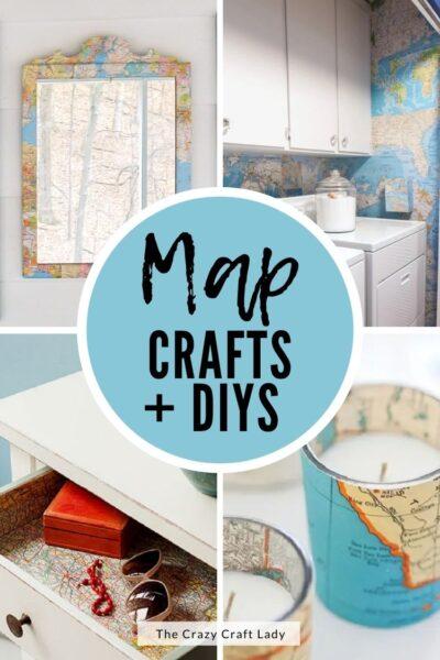map paper crafts