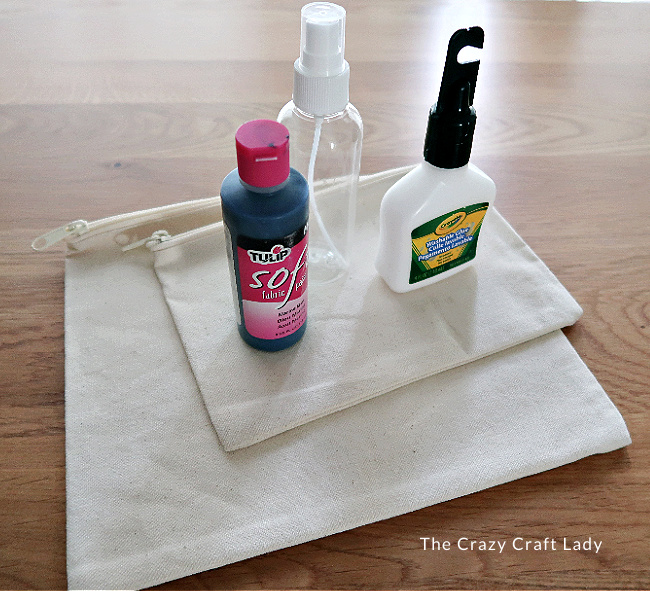supplies for Glue Resist Fabric Dyeing