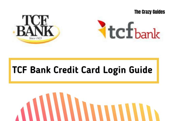 TCF bank credit card login