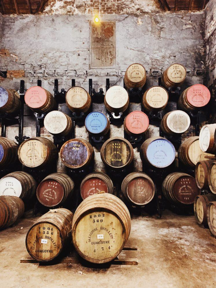 Glengoyne Whisky Distillery, Glasgow, Scotland