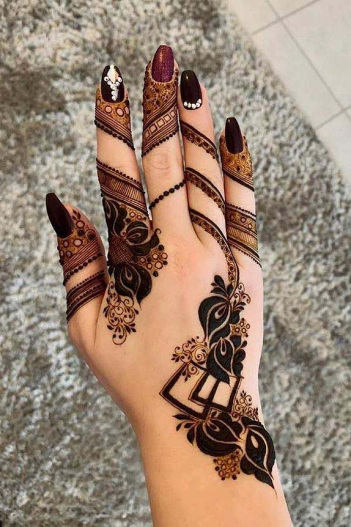 1000 All Types Of Latest And Trending Mehndi Dgn Design Of 2020
