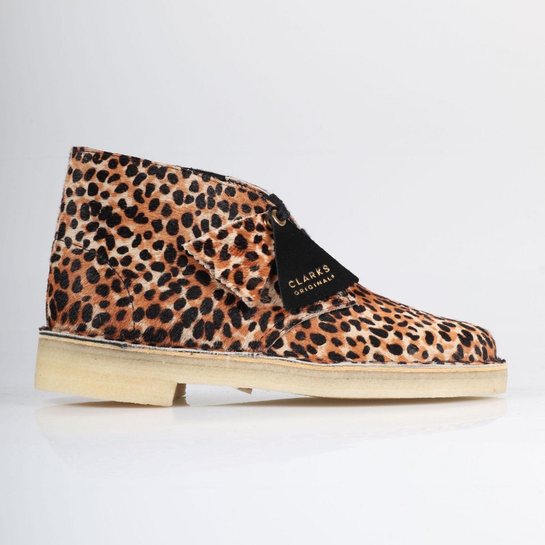 Clarks Desert Boot - Leopard Print/Pony 0