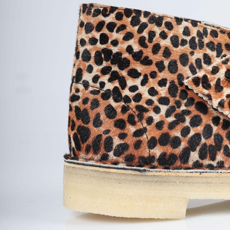 Clarks Desert Boot - Leopard Print/Pony 4