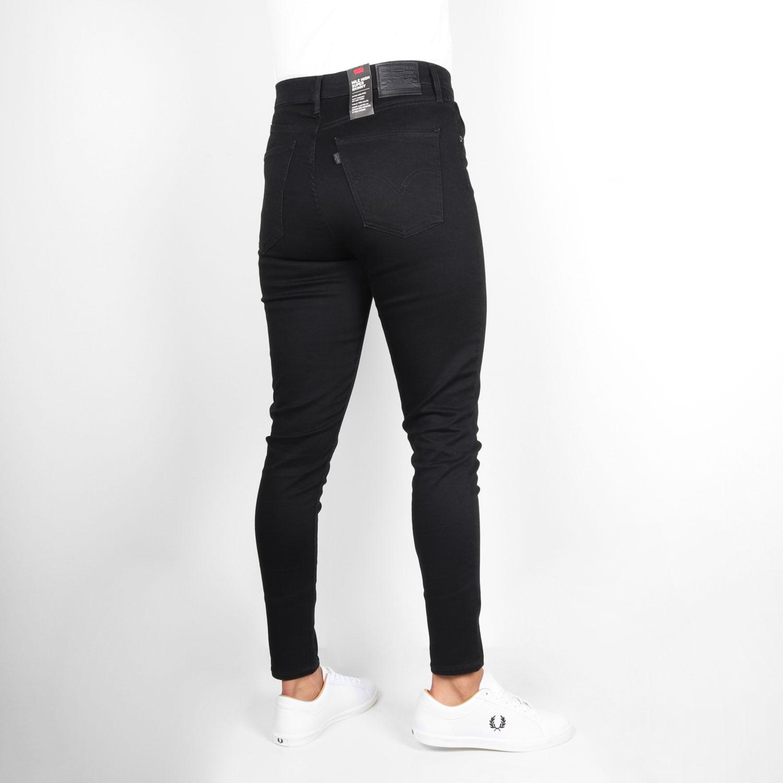 Levis Womens Mile High Super Skinny Fit Jean - Galaxy Black 1