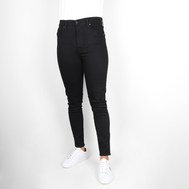 Levis Womens Mile High Super Skinny Fit Jean - Galaxy Black 0