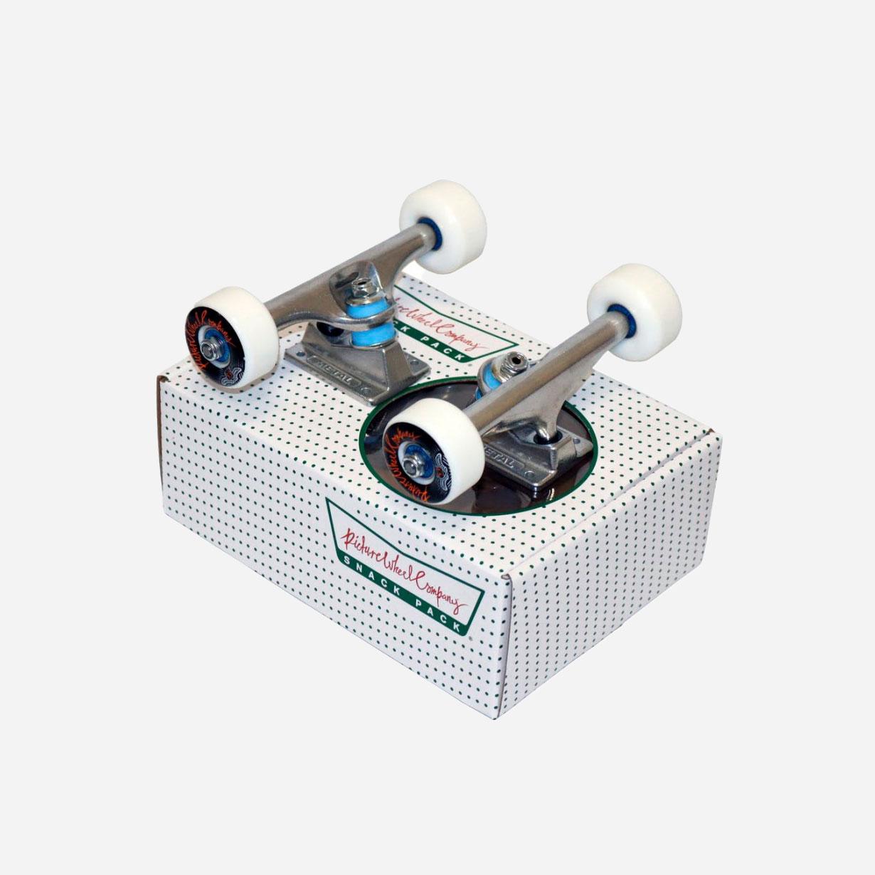 "Picture Snack Pack (Trucks/Wheels/Bearings) 5.25"" - Silver 0"
