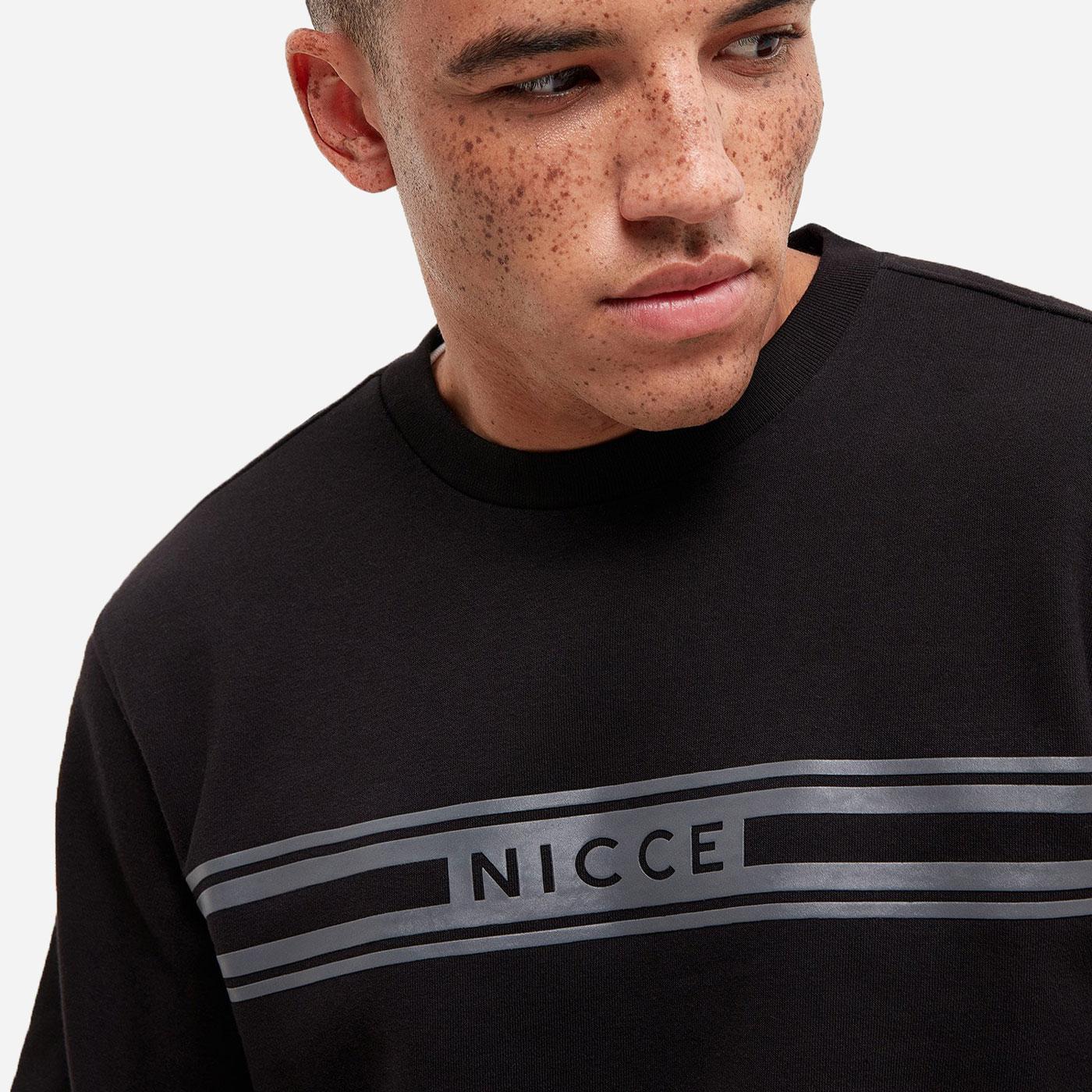 Nicce Northshore Sweat - Black 1