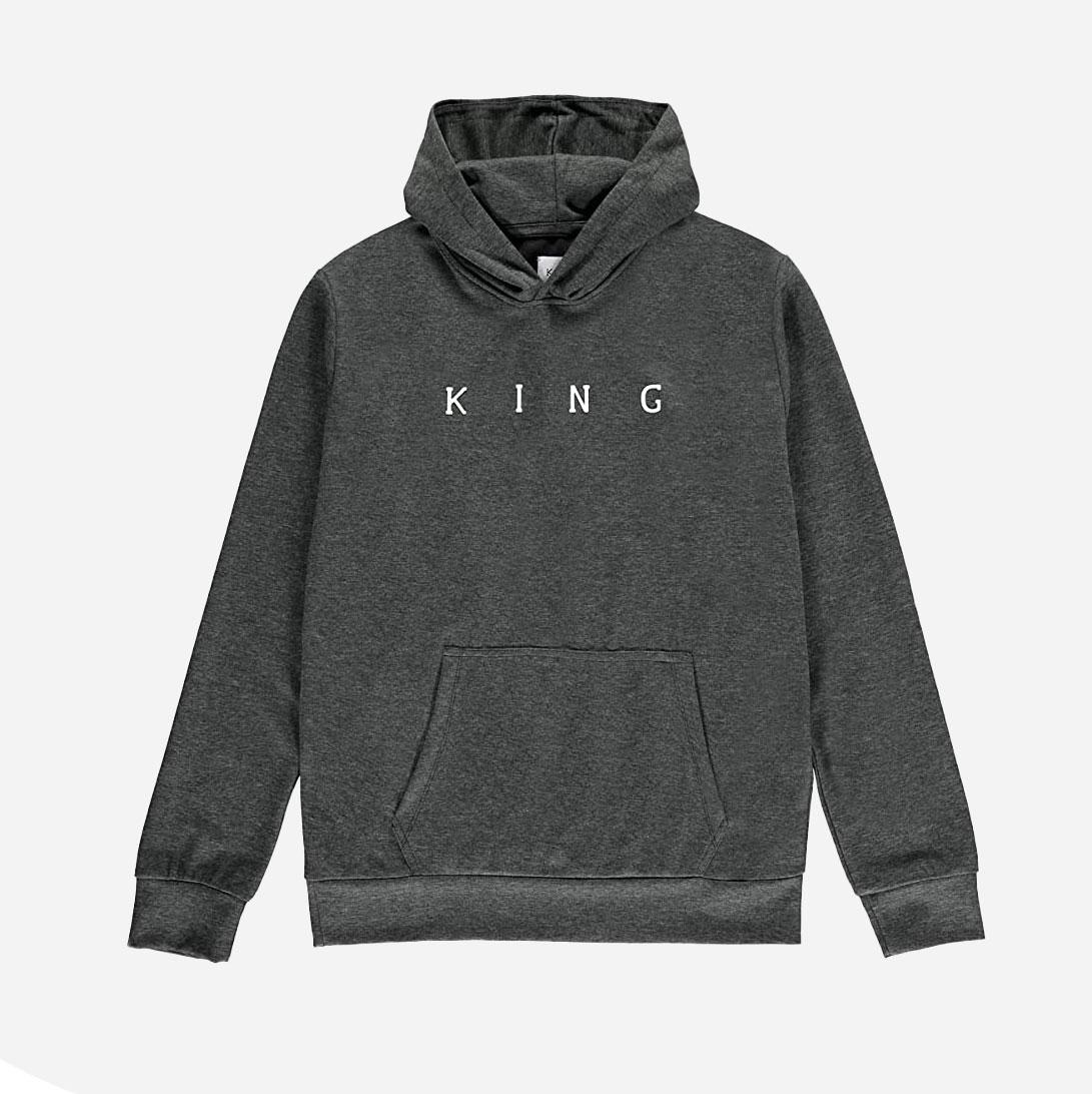 King Apparel Plaistow Tech Hood - Stone 0