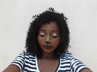 Cutcrease CAT EYE makeup look