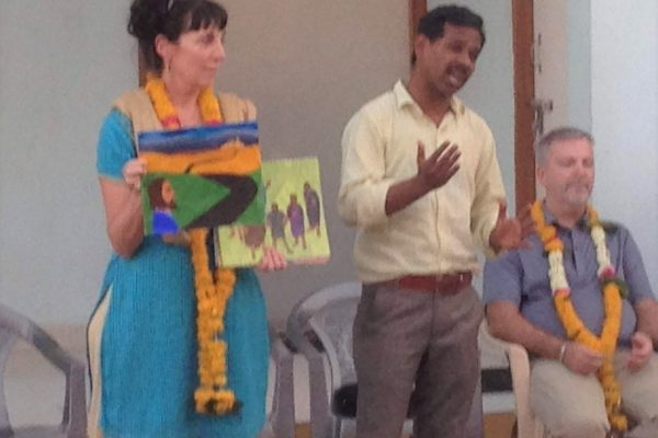 Sherie Teaching India 2