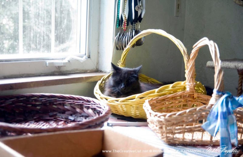 Hamlet chooses his basket.