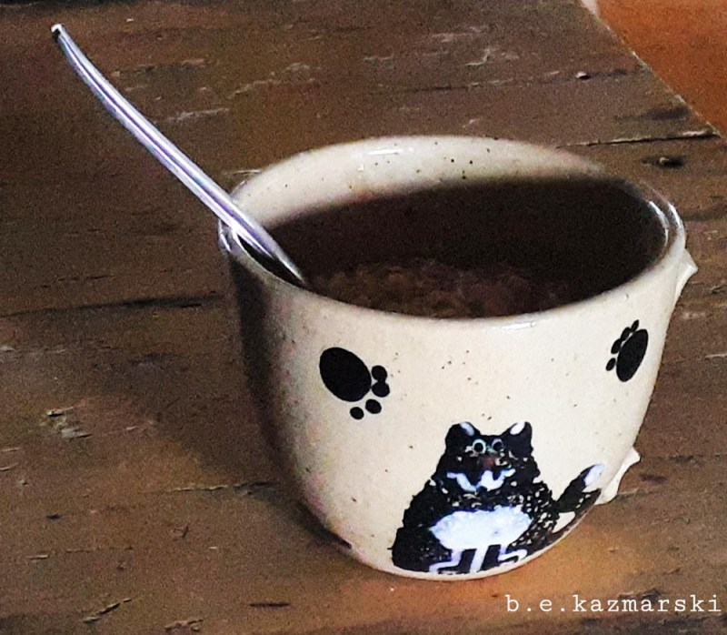 cup of oatmeal