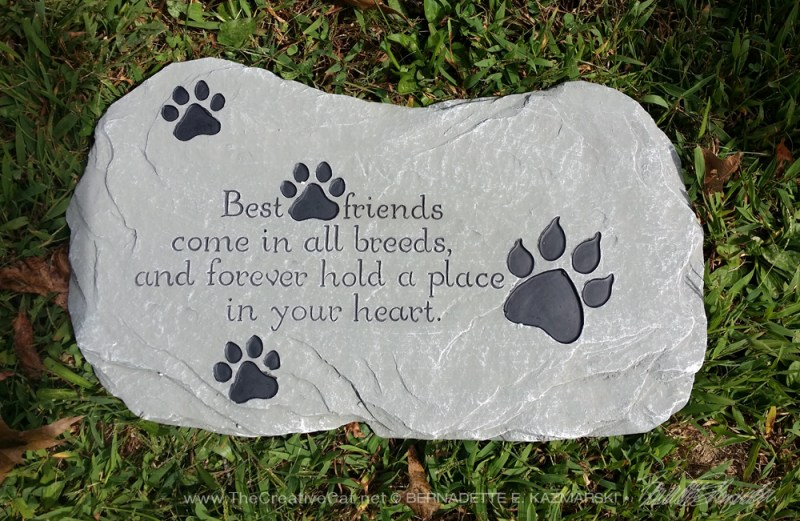 Best Friends memory stone.