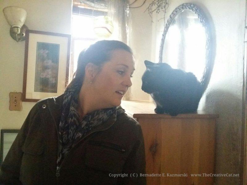 Giuseppe keeps an eye on Margo.