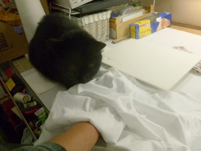 black cat watches printing