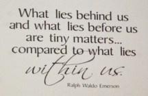 Emerson saying