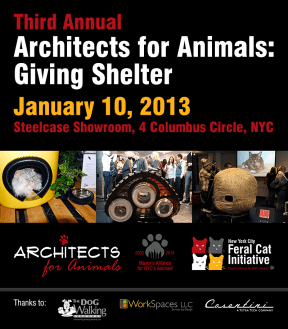 architects for animals giving shelter