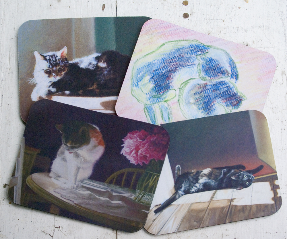 four mouse pads