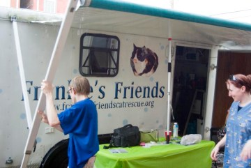 mobile veterinary van