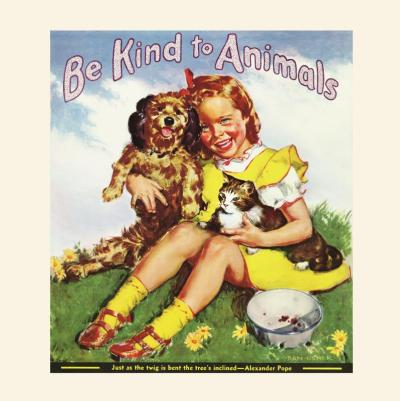 Celebrate Be Kind to Animals Week May 4-10, the country's oldest commemorative week created by American Humane Association in 1915! For ways to join the Compassion Movement and help animals today, go to www.americanhumane.org/bekind (PRNewsFoto/American Humane Association )