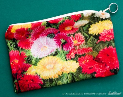 Greenhouse Gerberas accessory bag