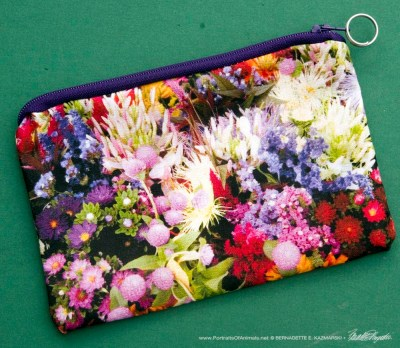 Market Flowers accessory bag