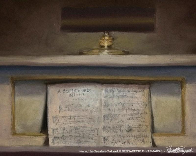 Allegro, detail of music.