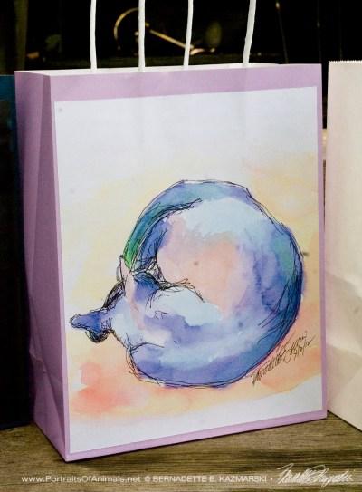 World Cat feline gift bag