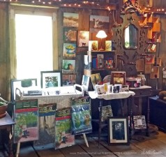 My display at The Outlet Barn.